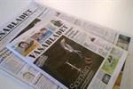 Provtrycket av tabloiden delas ut i dag.