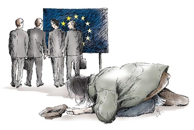 EU vänder ryggen åt minoritetsgrupper, däribland de utsatta och statslösa romerna. Enligt det gällande grundfördraget kan EU inte lagstifta om minoritetsrättigheter.