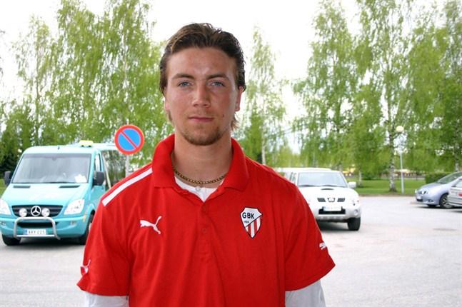 Petteri Jokihaara gjorde mål för GBK.