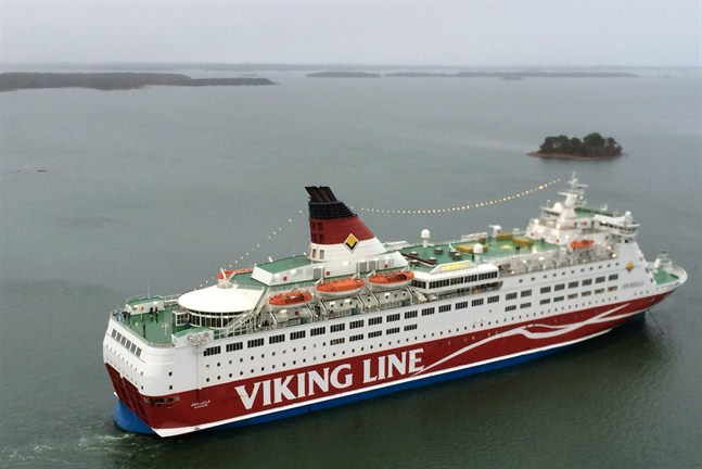 Viking Lines Amorella.