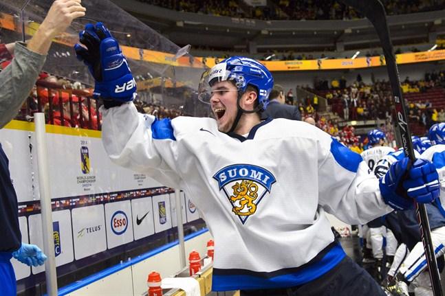 Joni Nikko var en viktig kugge i Finlands guldlag i junior-VM 2014.