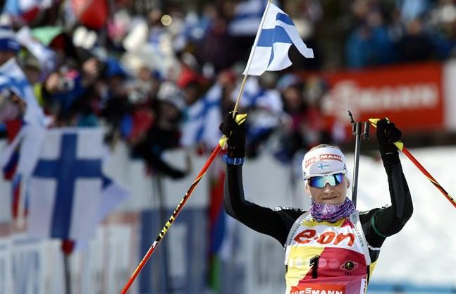 Kaisa Mäkäräinen – en av alla tiders bästa finländska idrottare.