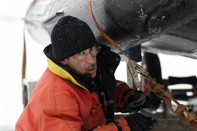 Tore Käld har tagit fram hydrokoptern tillsammans med Petors andra delägare Peter Sahlin.