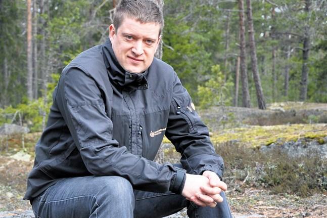 De privata sågarna är viktiga även för österbottniska skogsägare, säger Jan Slotte, verksamhetsledare för Skogsvårdsföreningen Österbotten.