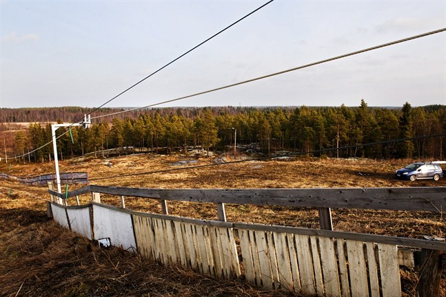 PP har löst in mera mark kring slalombacken i Bergö.