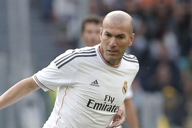 Zidane tranare i reals farmarlag