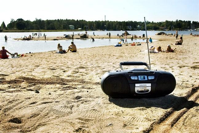 Fredagen var varm och solig i Österbotten.