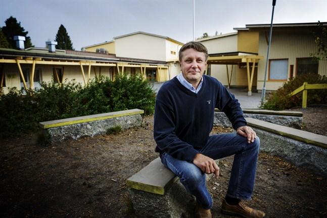 Ett flertal händelser vid Gerby skola har polisanmälts under det senaste året.