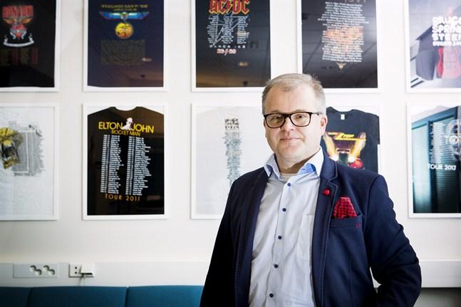 Marcus Käld är affärsområdeschef inom Lagercrantz Group.