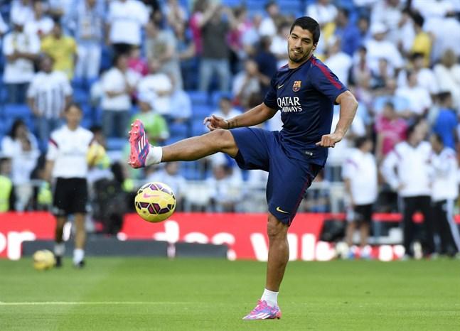 Suarez debuterade neymar tillbaka