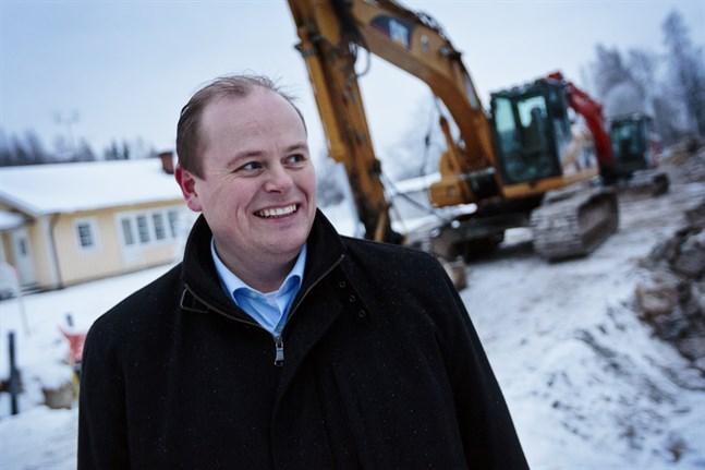 Stefan Råback, vd för Vasek.