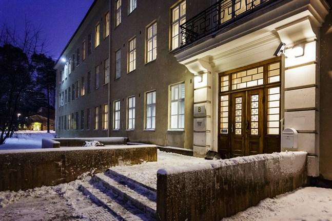 Roparnäs sjukhus i Vasa. Här finns sjukvårdsdistriktets psykiatriska verksamhet.