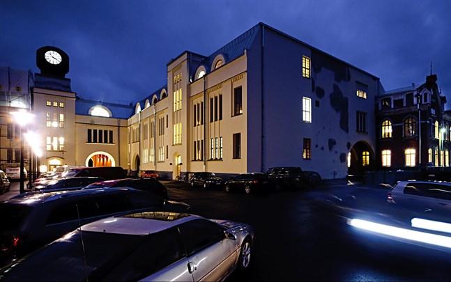 Stadshuset i Jakobstad.