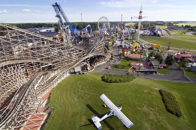 En familj från Vasa fick med sig ett obehagligt minne från nöjesparken Powerpark när de besökte den under helgen.