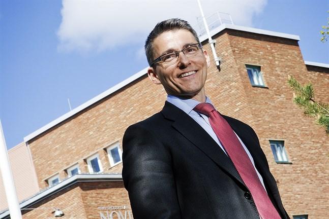 Novias rektor, Örjan Andersson.