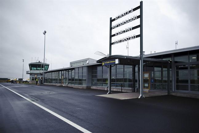 Kronoby flygplats.