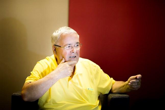 Ole Norrback, förbundsordförande för Svenska pensionärsförbundet.