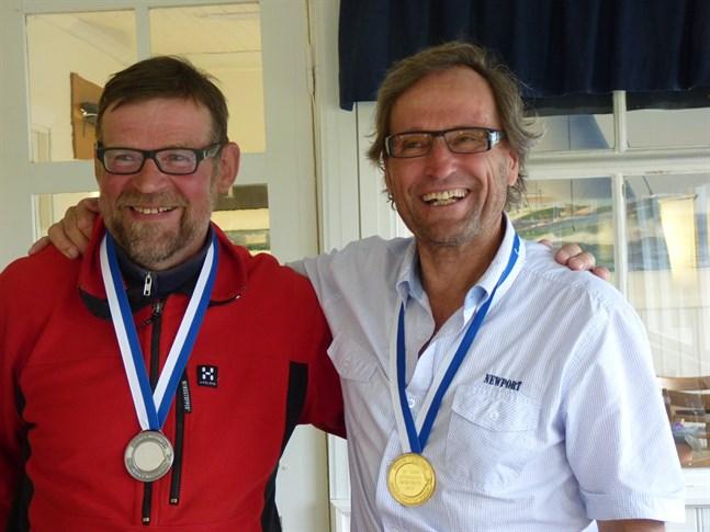 Johan Hartell och Kai Saksi gjorde upp om segern i haj-FM i Jakobstad.