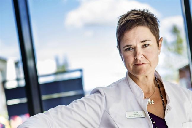 Överläkare Sofia Svartsjö var beredd på att viruset skulle ta sig in även till hvc i Korsholm.