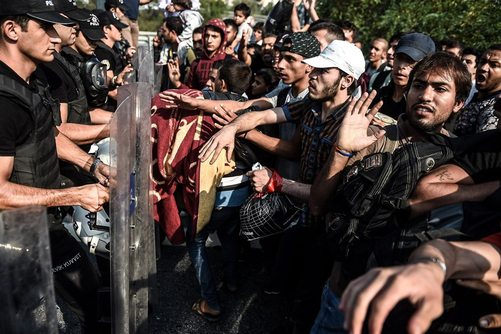 Turkiet vill ha hjalp med flyktingar