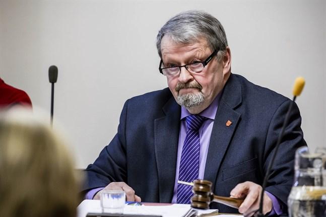 Hans-Erik Lindgren valdes på tisdagen till ordförande för Kvarnen samkommuns styrelse.