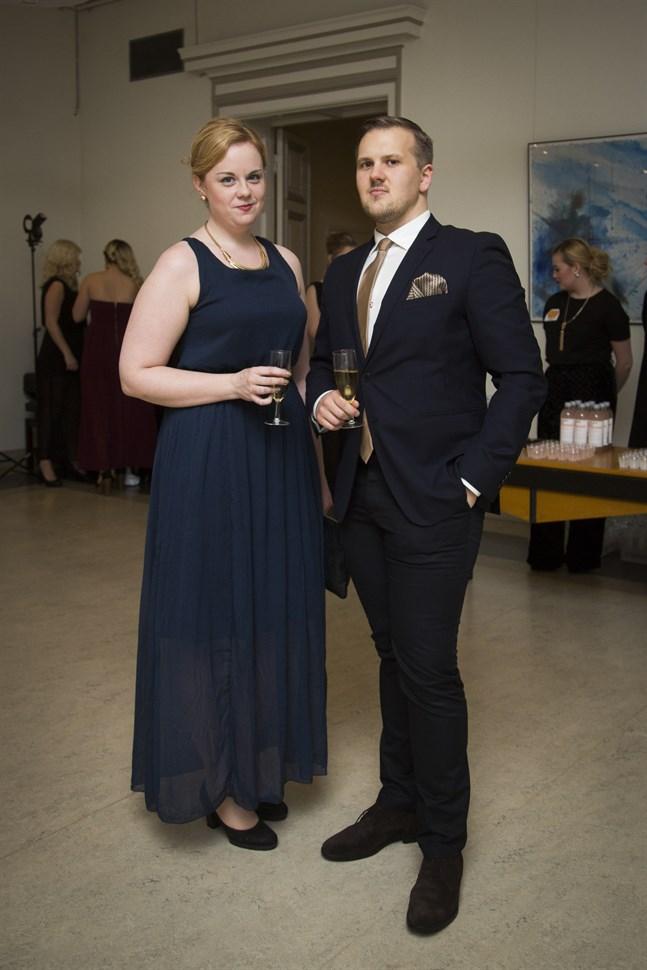 Mia Gripenberg och Björn Nordlund.