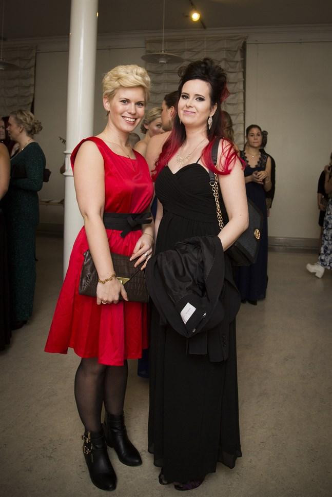 Christina Doktar och Nina Holm.