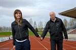 Maj. Närpes fick en ny idrottssekreterare när Jan-Erik Bergman gav över stafettpinnen till Ida Hautaoja.