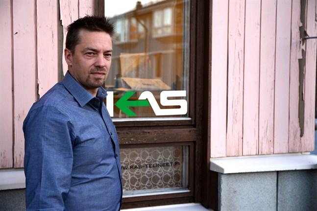Kari Rantakoski är ny ordförande för Kraft hockey. Han vill att föreningen ska växa.