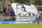 Jarno Parikka blev snabbt en publikfavorit i Sandviken. VPS-supportrarna hyllade anfallaren efter att han lämnade klubben i fjol.