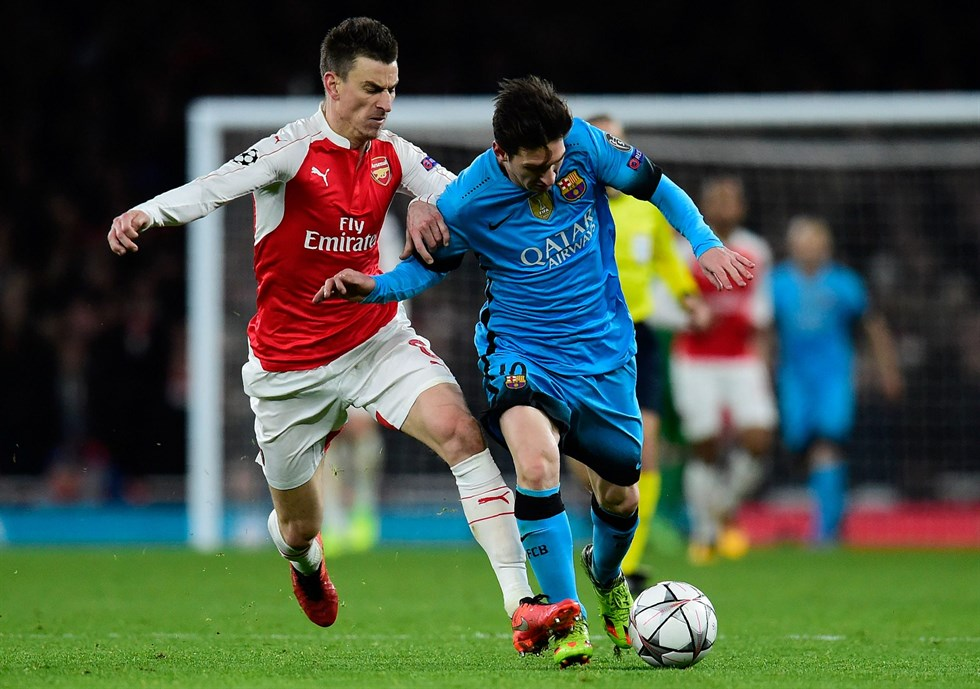Messi for mycket arsenal