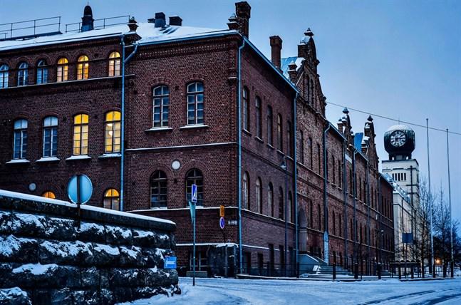 Jakobstads stadshus.