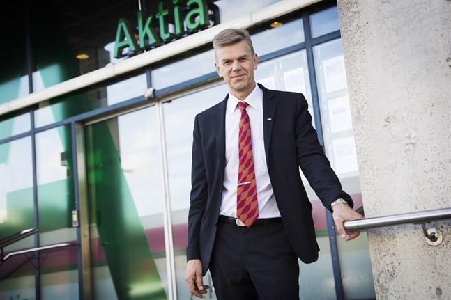 Ralf Bäckström, stiftelsens ombudsman.