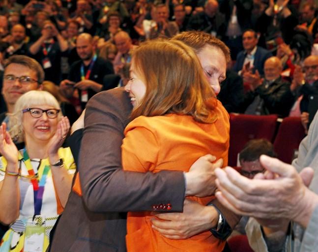 Li Andersson är ny ordförande för Vänsterförbundet.