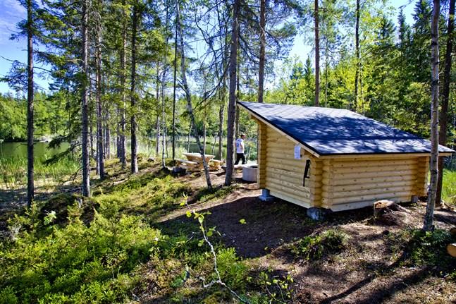 Denna rastplats finns längs Iskmo-Jungsund vandringsled.