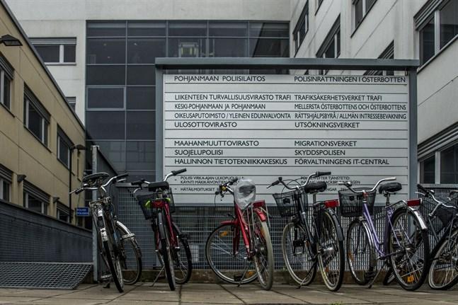 Migrationsverkets asylenhet i Vasa. Arkivbild.