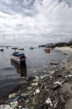 De olympiska seglarvattnen är rejält förorenade.
