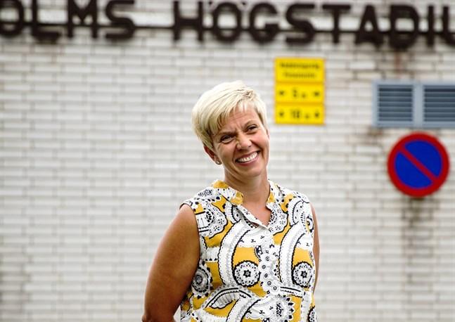 Inger Damlin är rektor på Korsholms högstadium.