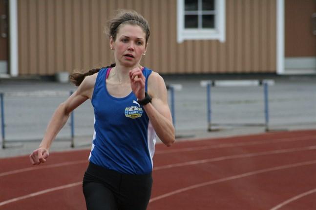 Heidi Kuuttinen hade ett lyckat veckoslut i Villmansstrand.