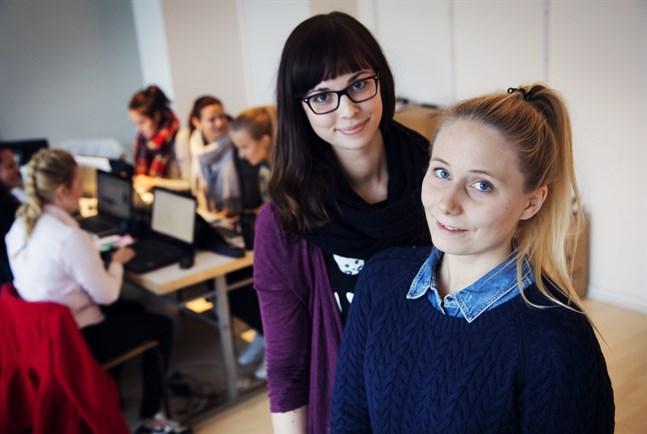 Maria Frände och Ida-Marie Jungell ordnar en blogg- och nöjesgala också i år.