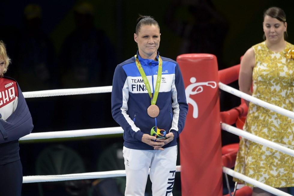 Mira Potkonen tog Finlands enda medalj vid OS I Rio de Janeiro. Foto  Antti  Aimo-Koivisto 810dc05740c10