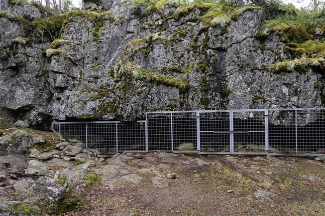 Varggrottan i Kristinestad.