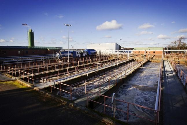 Avloppsvattnet i Vasa kommer inte enbart från Vasa stad, och därmed inte heller de spår av narkotika man hittar där.