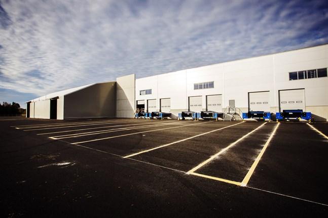 Schenkers nya terminal i Vasa är en koldioxidneutral byggnad.