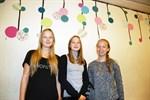 Sjuorna Ella Koski, Amanda Harald och Amelia Björk gillade dagens upplägg.