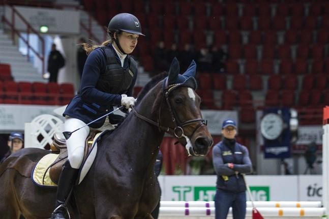 Alexandra Haglund tävlade i helgen.