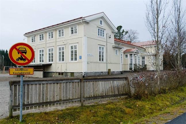 Bennäs skola hölls stängd på onsdagen.