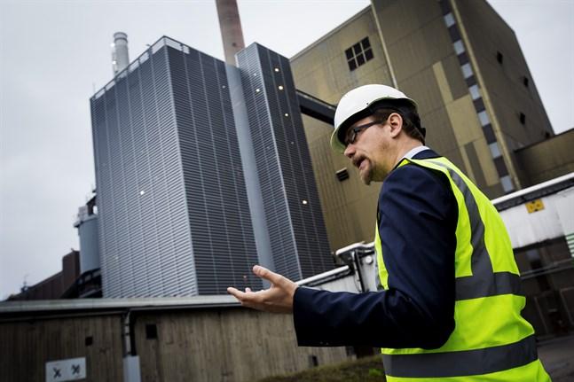 Redan nu använder Vaskiluodon voima ungefär så mycket biobränsle som kan fås till rimligt pris, säger direktören Mats Söderlund. När mer effekt behövs används stenkol.