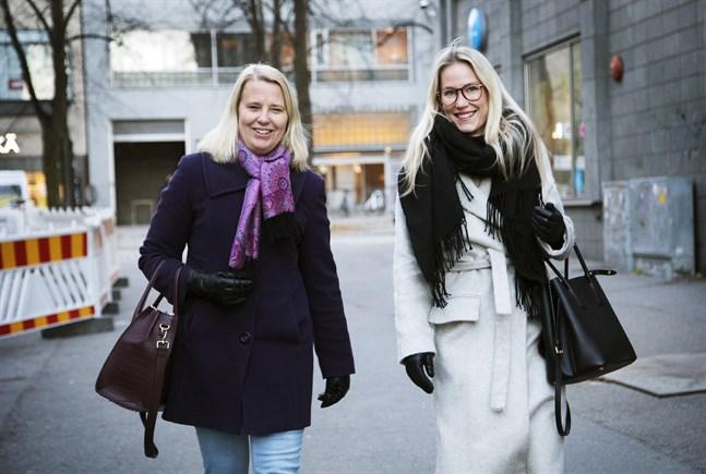 Internationella dagen mot kvinnovåld uppmärksammas med ett seminarium i Smedsby. Monica Asplund från Svenska kvinnoförbundet i Korsholm och Sari Somppi från Vasaregionens brottsofferjour hoppas på god uppslutning.