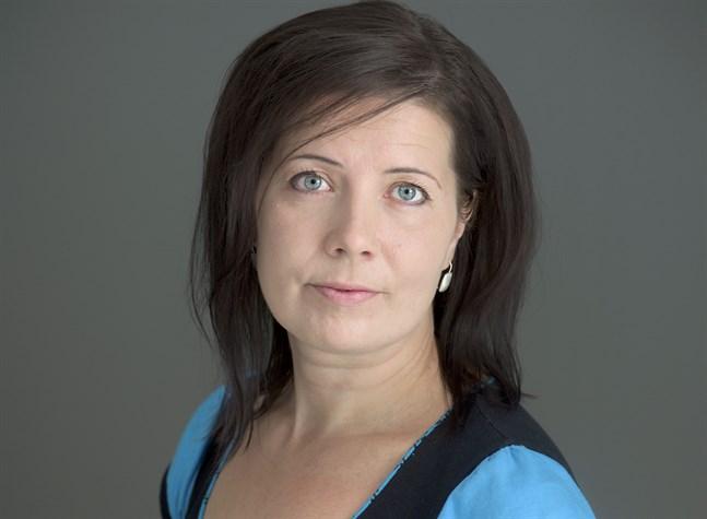 Journalistförbundets ordförande Hanne Aho.